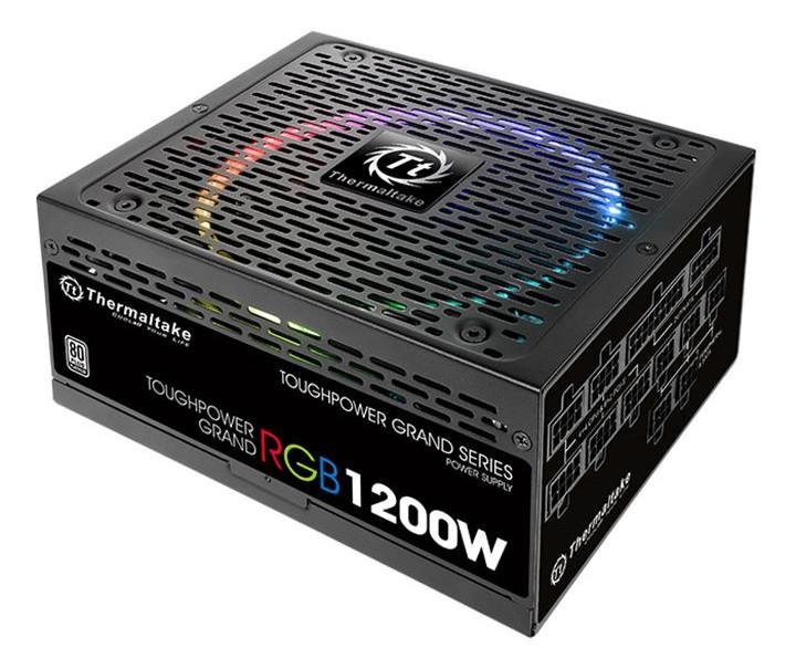 Блок питания Thermaltake Toughpower Grand RGB 1200W 80+ Platinum PS-TPG-1200F1FAPE-1 блок питания thermaltake toughpower irgb plus 1200w 80 platinum ps tpi 1200f2fdpe 1
