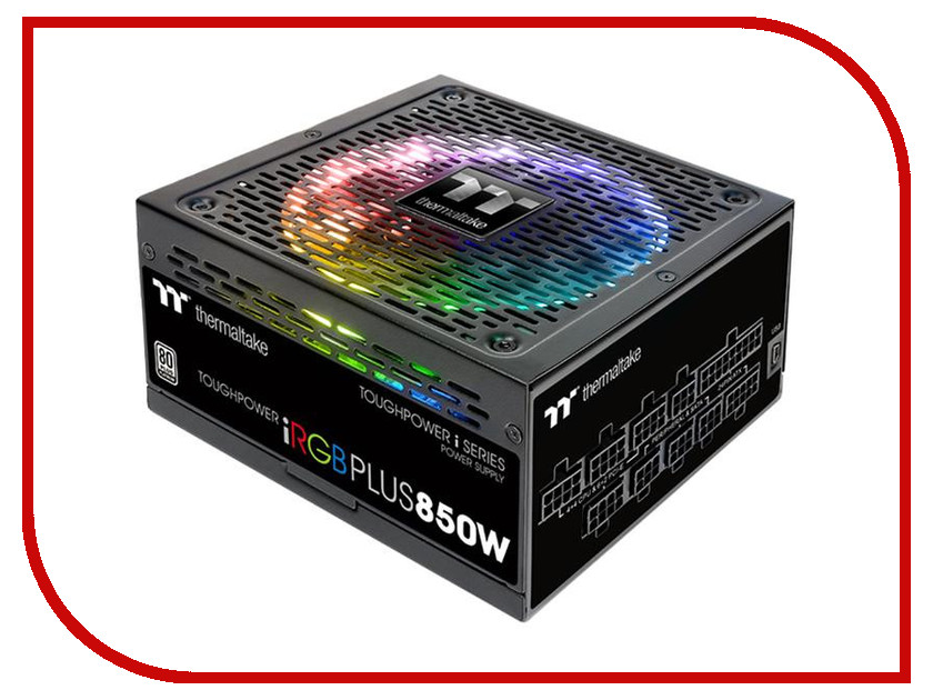 Фото Блок питания Thermaltake Toughpower iRGB Plus 850W 80+ Platinum PS-TPI-0850F2FDPE-1