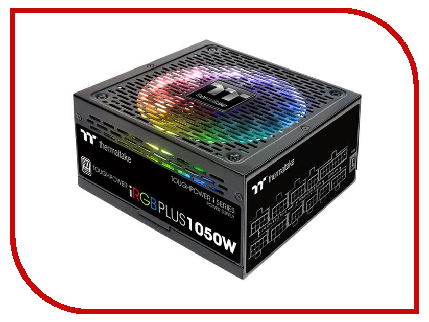 Блок питания Thermaltake Toughpower iRGB Plus 1050W 80+ Platinum PS-TPI-1050F2FDPE-1 блок питания thermaltake toughpower irgb plus 1050вт 140мм черный retail [ps tpi 1050f2fdpe 1]