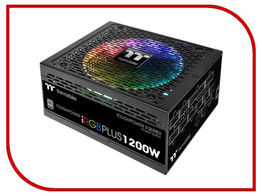 Блок питания Thermaltake Toughpower iRGB Plus 1200W 80+ Platinum PS-TPI-1200F2FDPE-1 блок питания thermaltake amur 1200w apfc cm 80 gold w0430re