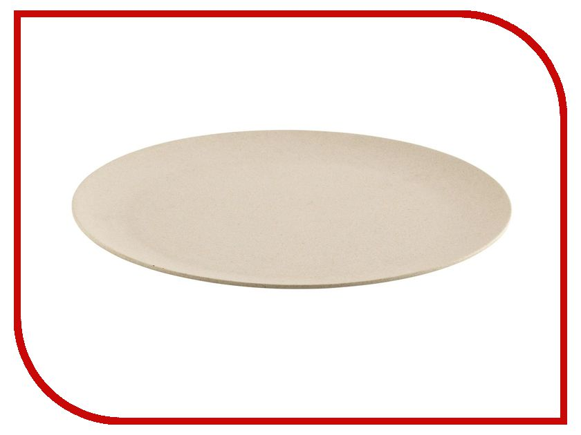 Тарелка обеденная Outwell Bamboo Dinner Plate Casablanca White 650515
