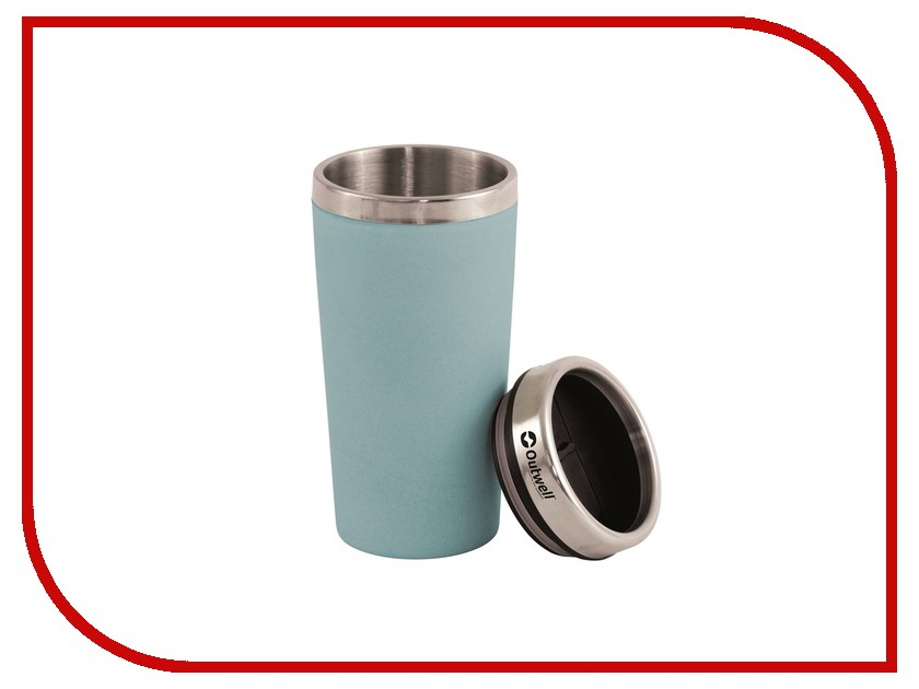 Термокружка Outwell Vacuum Bamboo Mug Iris Blue 650664