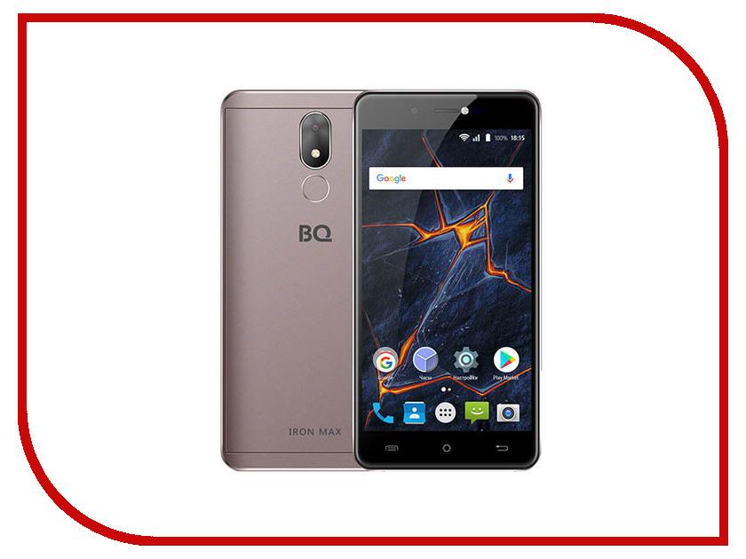 Сотовый телефон BQ 5507L Iron Max Moka сотовый телефон bq 5007l iron rose gold