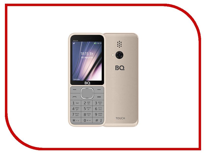 Сотовый телефон BQ 2429 Touch Gold