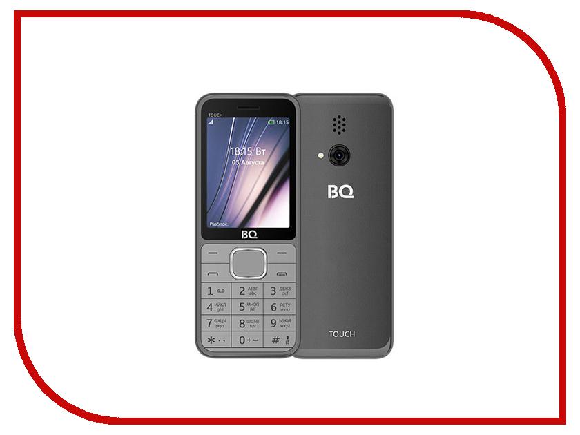 Сотовый телефон BQ 2429 Touch Gray bq 2427 boom l gray