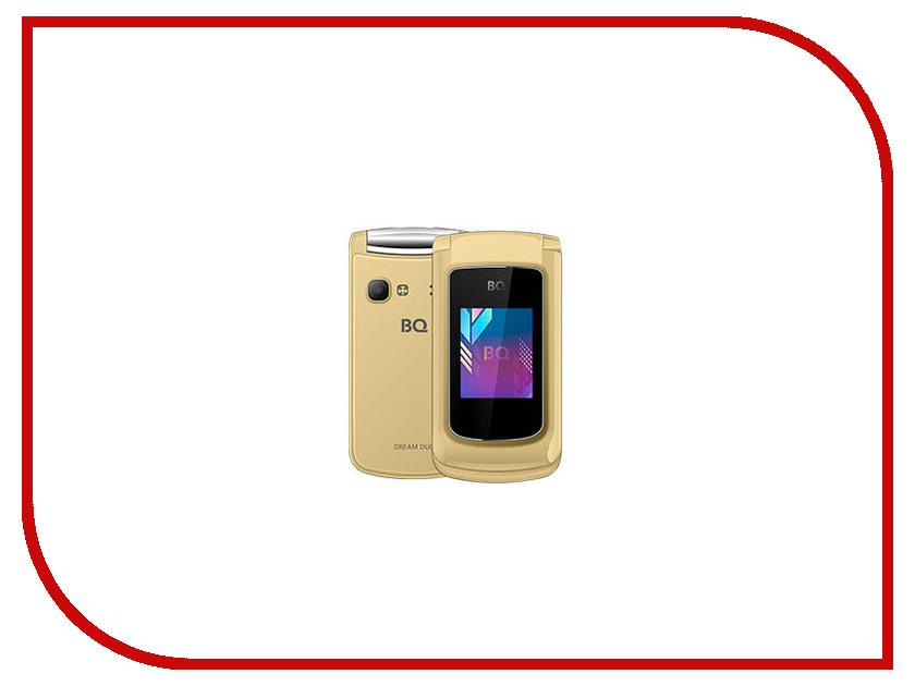 Сотовый телефон BQ 2433 Dream Duo Gold bq телефон bq 2405 dream