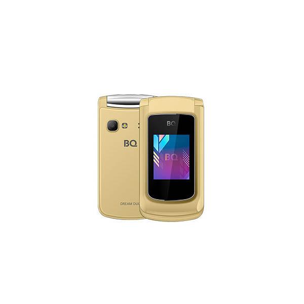 Сотовый телефон BQ 2433 Dream Duo Gold цена и фото