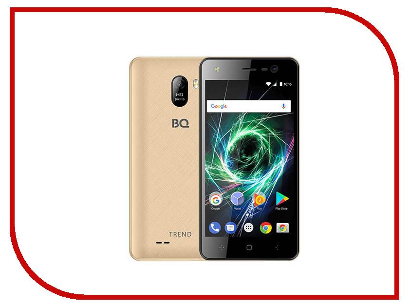 Сотовый телефон BQ 5009L Trend Gold сотовый телефон philips e311 xenium navy