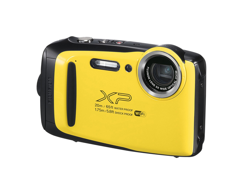 Фотоаппарат Fujifilm FinePix XP130 Yellow цена и фото