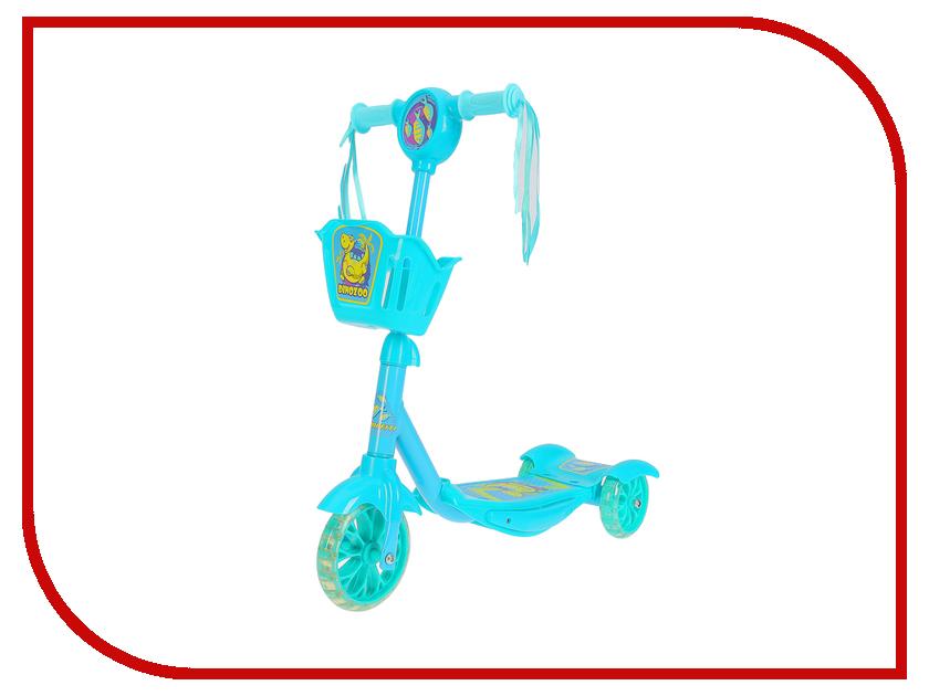 GRAFFITI - Самокат Graffiti DinoZoo Light Blue 2884993