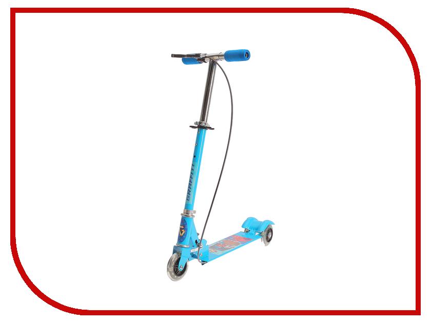 Самокат Graffiti Korsar Light Blue 2884988