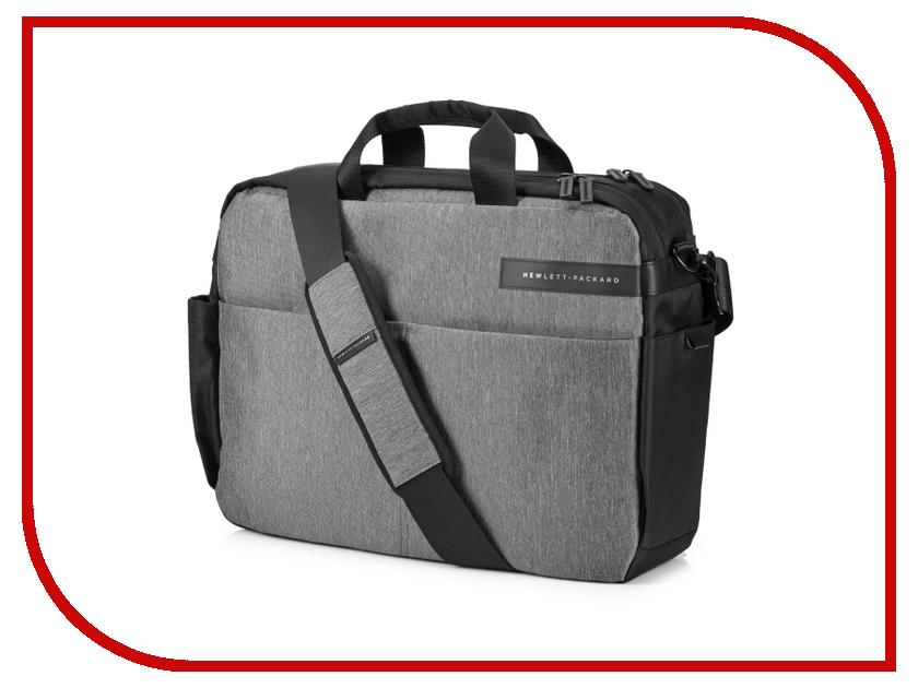 Аксессуар Сумка 15.6 HP Case Signature II Topload Grey L6V65AA сумка для ноутбука hp signature topload case 15 6 l6v65aa