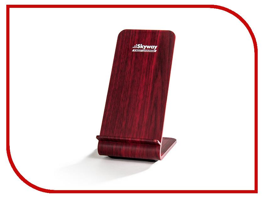 Зарядное устройство Skyway Energy Fast Dark Wood аксессуар защитное стекло sony xperia z5 compact ainy 0 33mm в