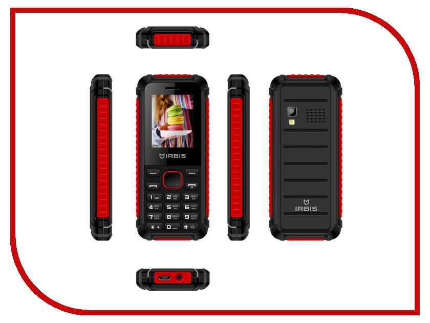 Сотовый телефон Irbis SF17r Black-Red