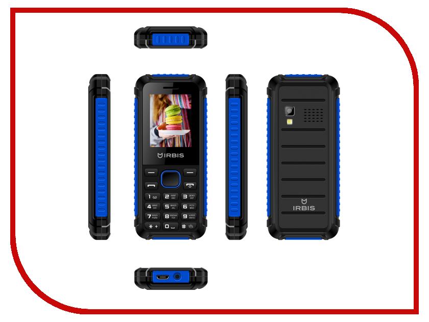 Сотовый телефон Irbis SF17x Black-Blue сотовый телефон irbis sf02 black blue