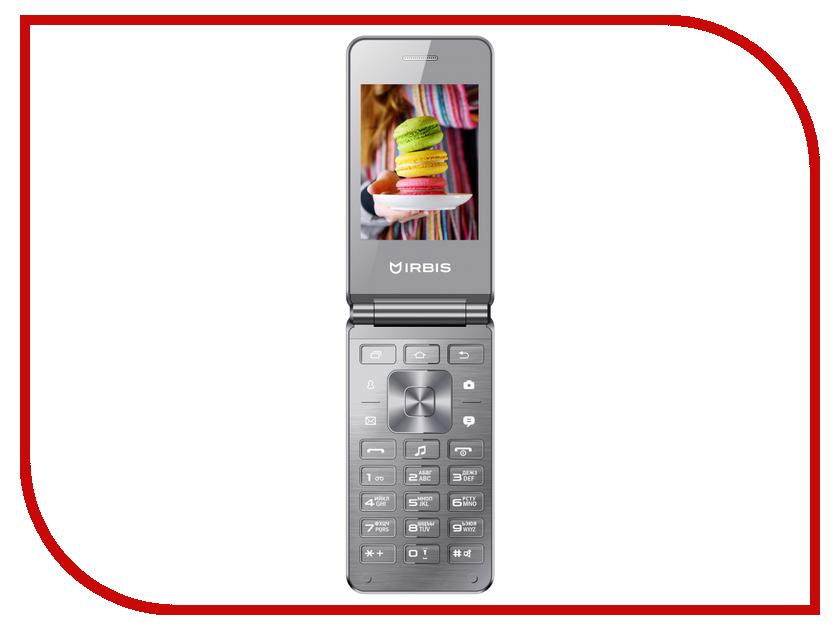 Сотовый телефон Irbis SF20s Silver сотовый телефон irbis sp517 red