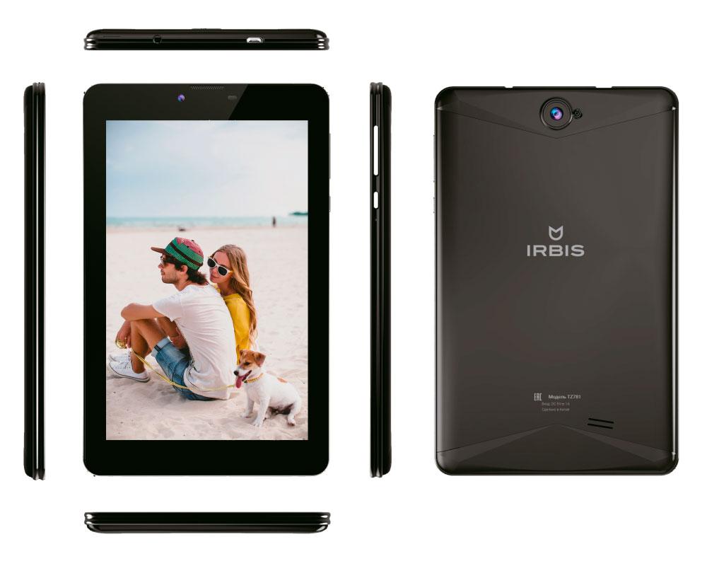 все цены на Планшет Irbis TZ781 Black онлайн