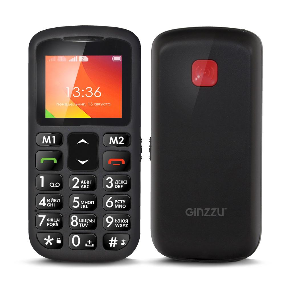 Сотовый телефон Ginzzu MB601 Black цена