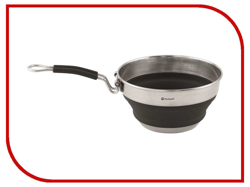 Сковорода Outwell Collaps Saucepan 1.5L Midnight Black 650615 стул outwell windsor hills pepper black 470112