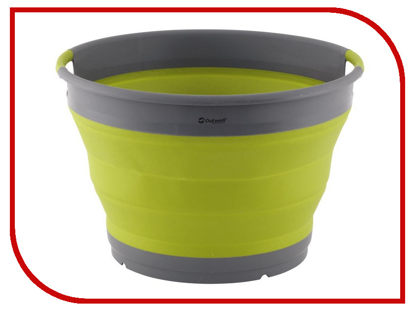 Корыто складное Outwell Collaps Washing-up Bowl Lime Green 650636