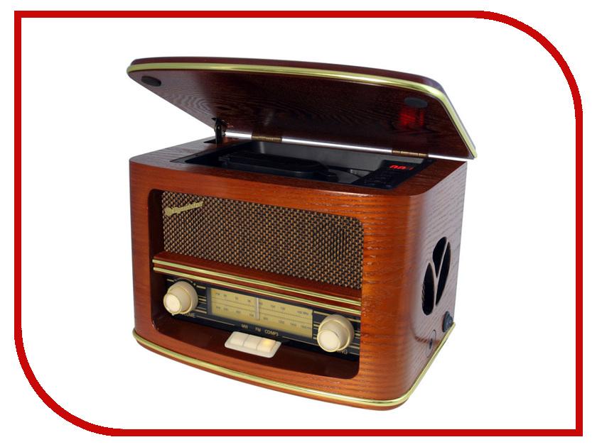 Радиоприемник Roadstar HRA-1500MP Wood