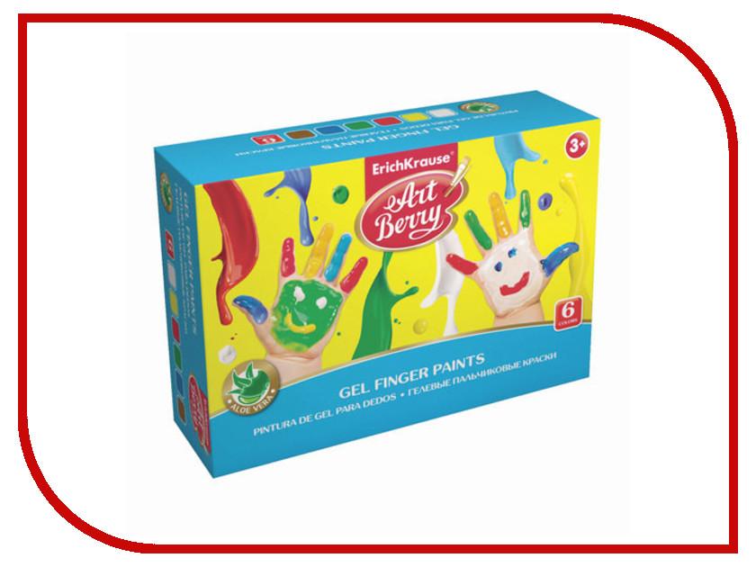 Erich Krause Artberry 6 цветов 100ml 41754 erich krause набор для творчества artberry пальчиковые краски 4 банки
