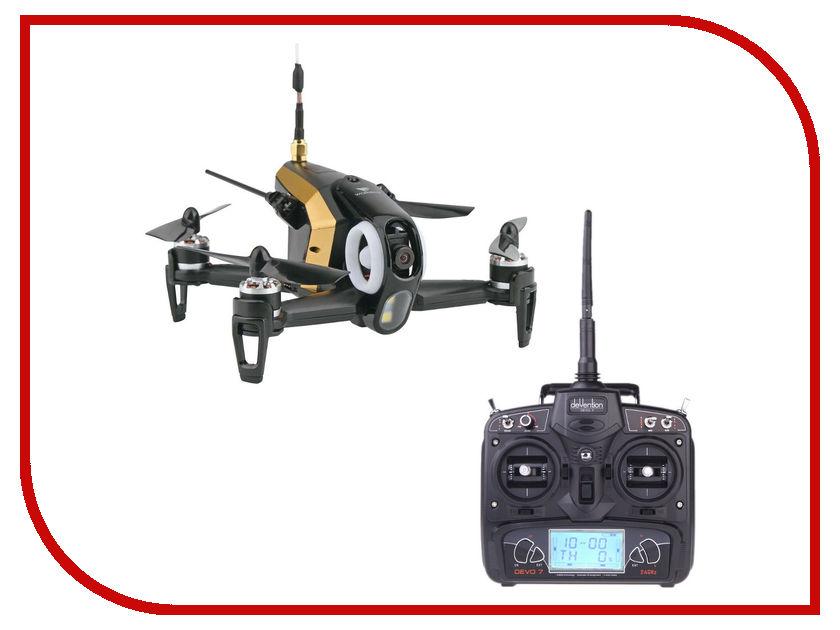 Квадрокоптер Walkera Rodeo 150 BNF + DEVO 7 Black WAL-RODEO150-BNF-B радиоуправляемый квадрокоптер walkera voyager 3 basic version 2 bnf