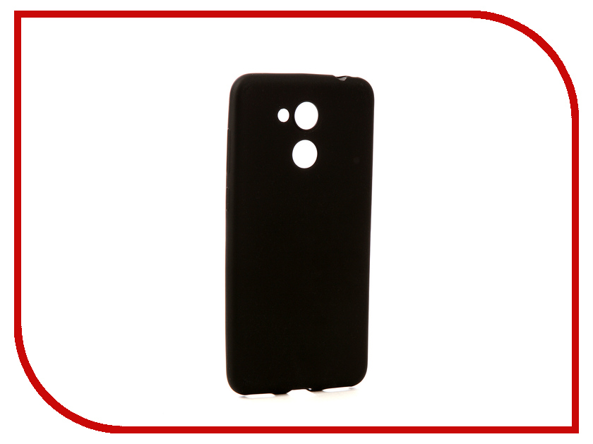 Аксессуар Чехол Huawei Honor 6C Pro Zibelino Soft Matte Black ZSM-HUA-6C-PRO-BLK аксессуар чехол huawei honor p10 zibelino classico black zcl hua p10 blk