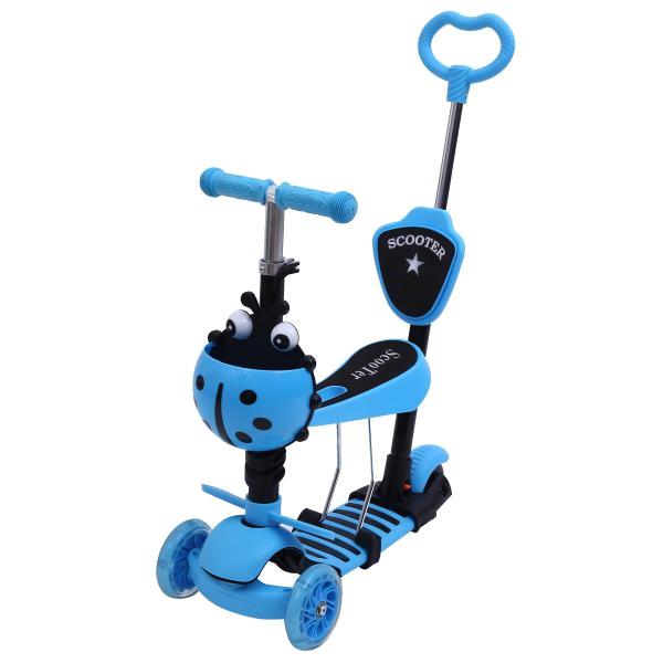 Самокат Shantou City Daxiang Plastic Toys XK-M06BLUE