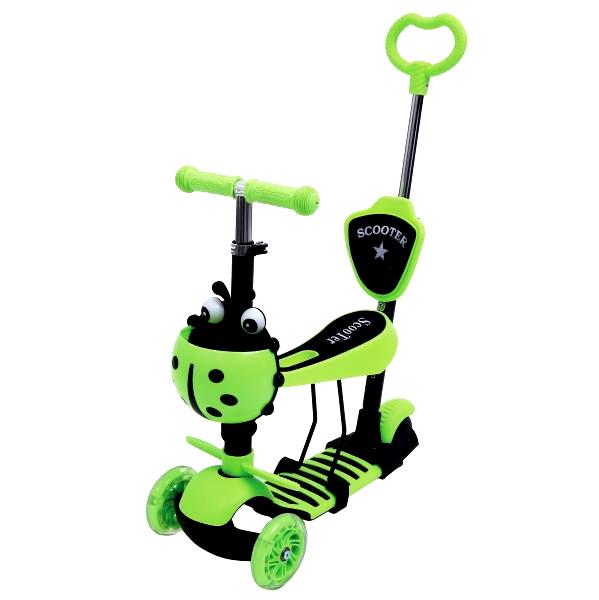 Самокат Shantou City Daxiang Plastic Toys XK-M06GREEN