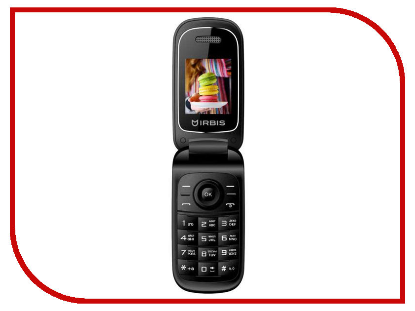 Сотовый телефон Irbis SF15 Black сотовый телефон irbis sp517 black