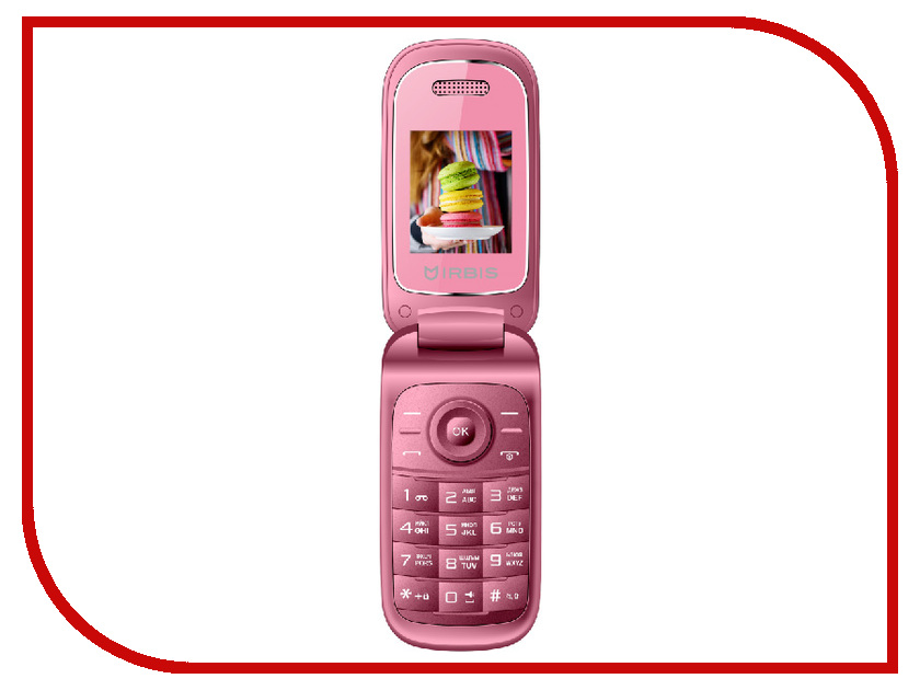 Сотовый телефон Irbis SF15 Pink сотовый телефон irbis sp517 black