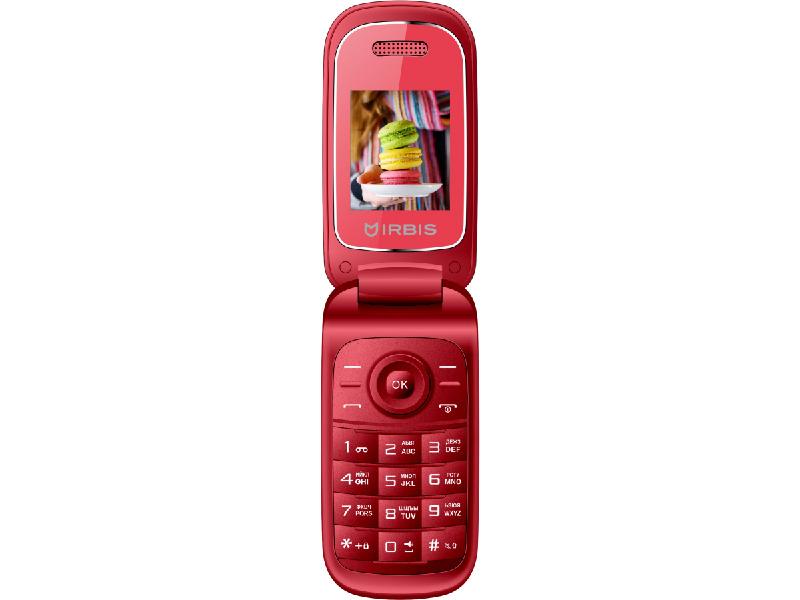 купить Сотовый телефон Irbis SF15 Red по цене 629 рублей