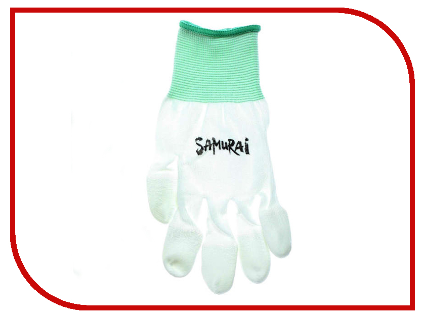 Аксессуар Перчатки Samurai Glove White yfy lpst fancy palliette detail led light glove white