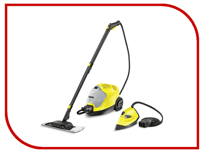Пароочиститель Karcher SC 4 EasyFix Iron Kit 1.512-453.0 karcher karcher si 4 iron kit желтый
