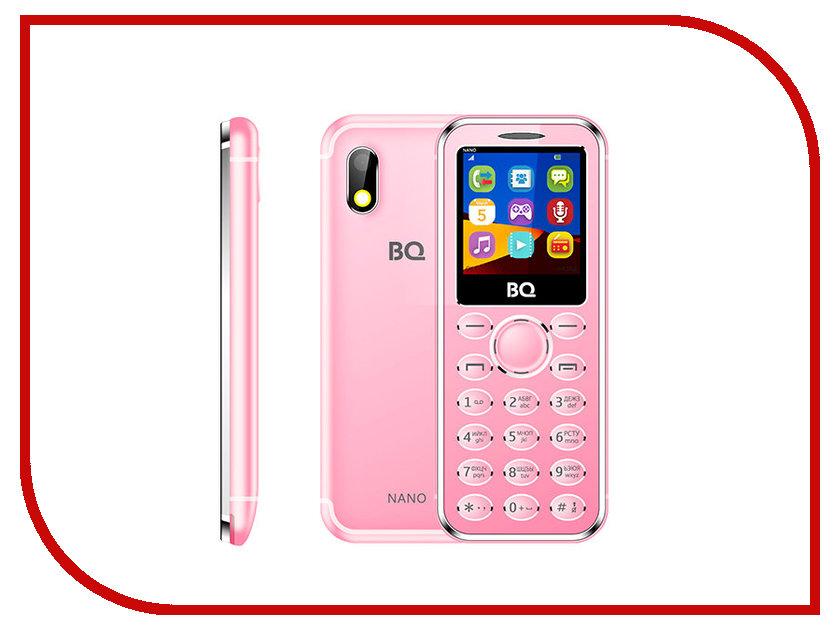 Сотовый телефон BQ BQ-1411 Nano Pink Gold bq m 2400 taipei pink