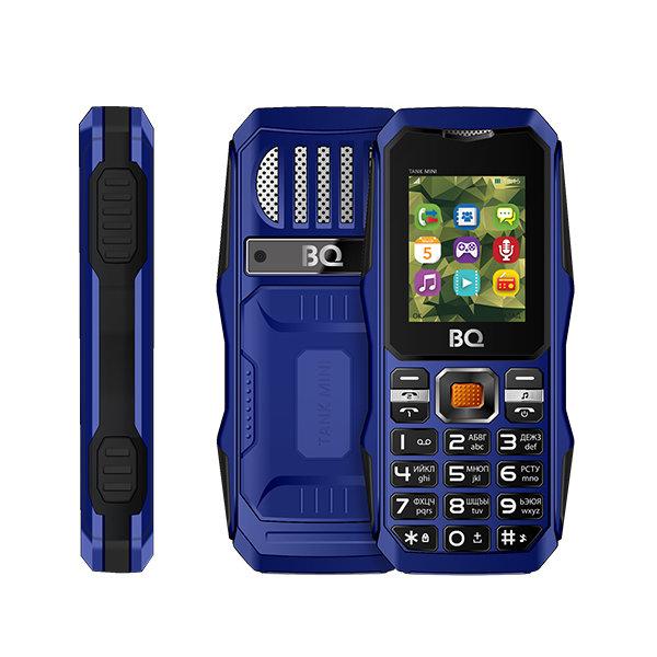 Сотовый телефон BQ BQ-1842 Tank Mini Dark Blue
