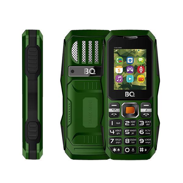Фото - Сотовый телефон BQ BQ-1842 Tank Mini Dark Green мобильный телефон bq mobile bq 1807 step dark blue