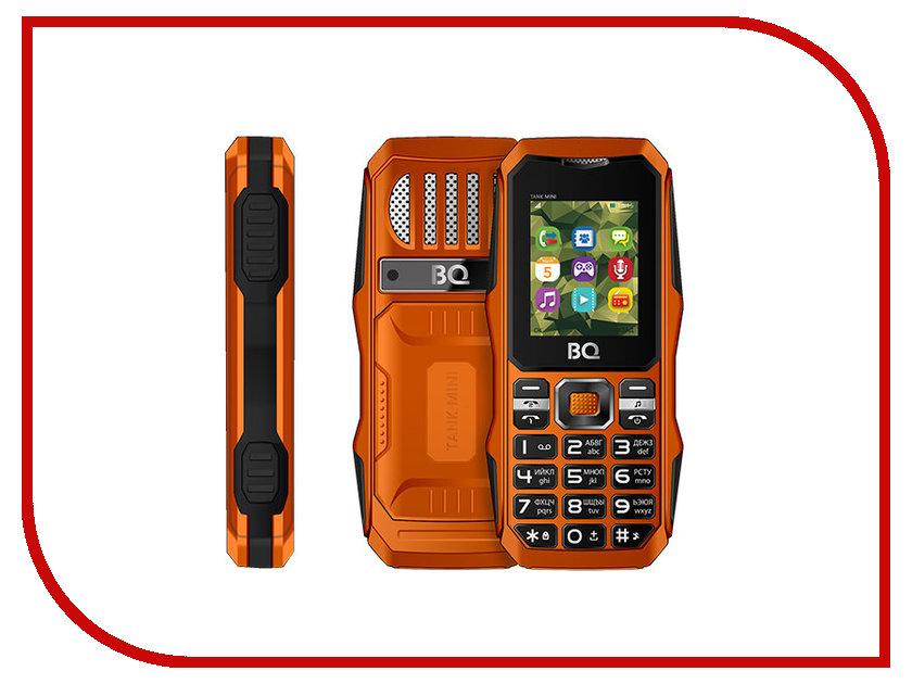 Сотовый телефон BQ BQ-1842 Tank Mini Orange мобильный телефон bq mobile bq 1842 tank mini black