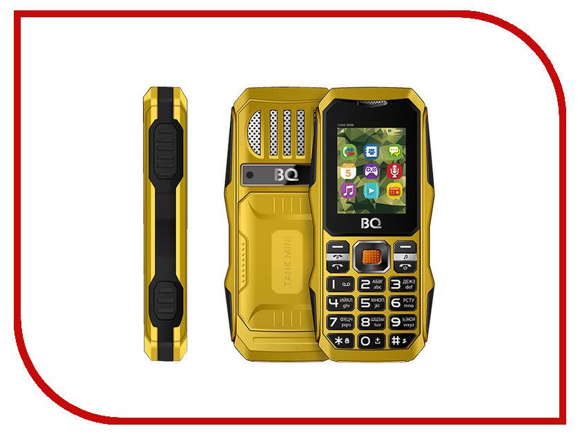 Сотовый телефон BQ BQ-1842 Tank Mini Yellow мобильный телефон bq mobile bq 1842 tank mini black
