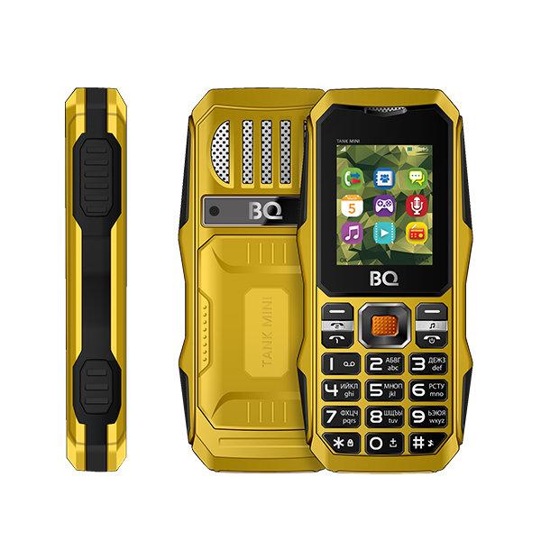 Сотовый телефон BQ BQ-1842 Tank Mini Yellow