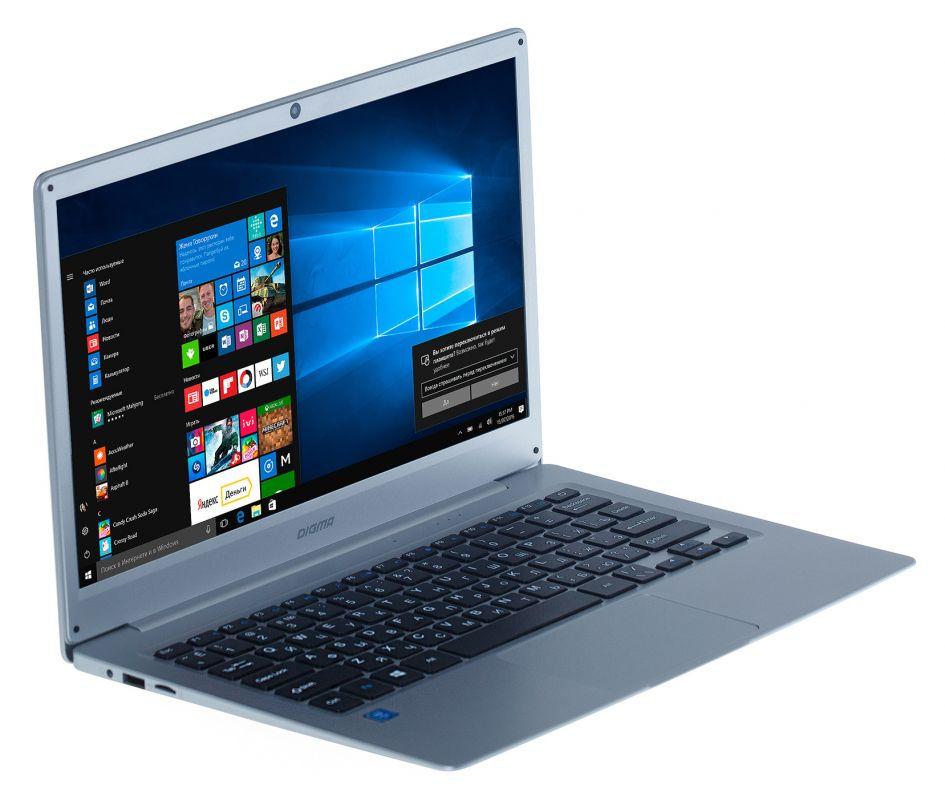 цена на Ноутбук Digma EVE 300 (Intel Atom x5-Z8350 1.44 GHz/2048Mb/32Gb SSD/Intel HD Graphics/Wi-Fi/Bluetooth/Cam/13.3/1920x1080/Windows 10 Home 64-bit)