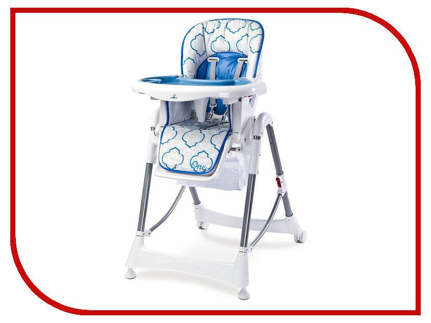 Стул Caretero One Blue Tero-7230 стульчик для кормления caretero pop green зеленый tero 7264