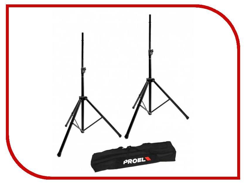 Комплект стоек для АС Proel FRE300KIT 2шт Black разъем rca proel mrca30