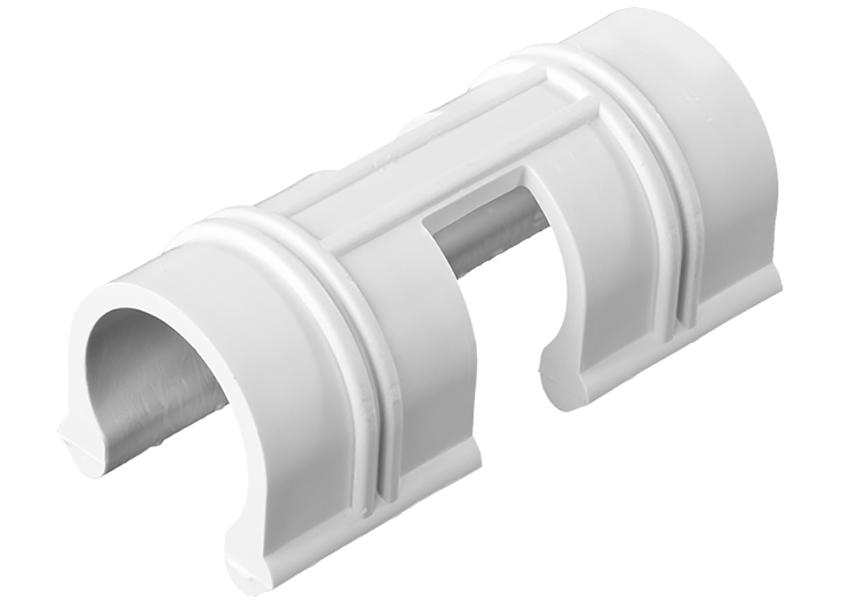Зажим для крепления пленки Grinda d-20mm 10шт White 422317-20