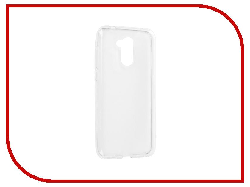 Аксессуар Чехол для Huawei Honor 6A Svekla Silicone Transparent SV-HWH6A-WH аксессуар чехол huawei y3 ii svekla silicone transparent sv hwy3ii wh