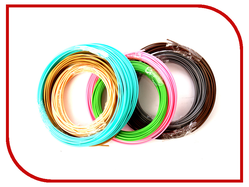 Аксессуар Spider Box / Authentiq №7 ABS 7 Цветов по 10m