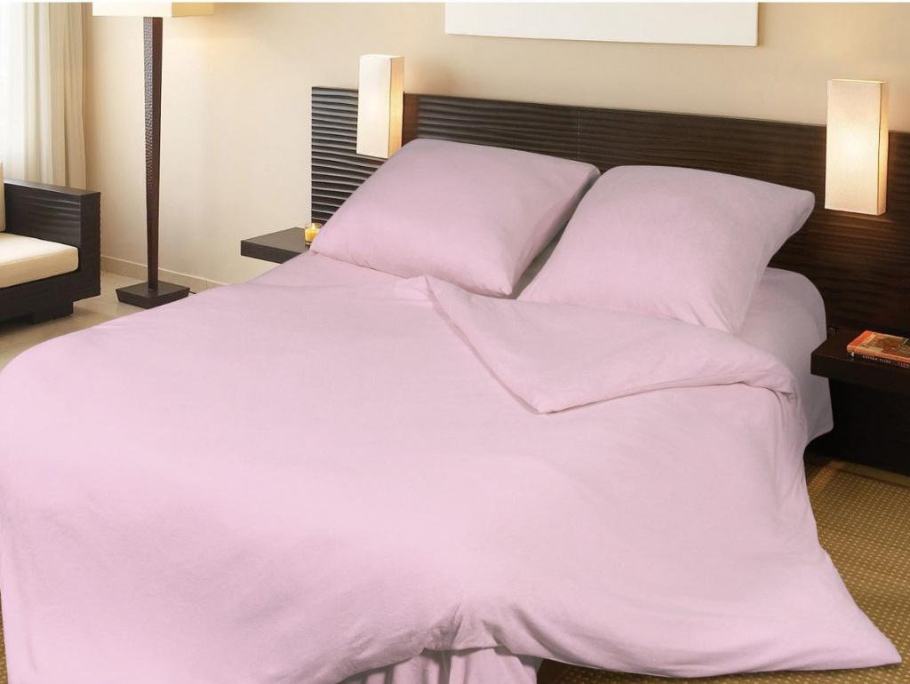 Постельное белье Грация Комплект 1.5 спальный Махра Pink 2197242
