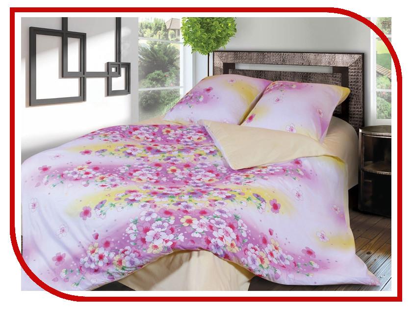 Постельное белье Грация 3858-1 Комплект 1.5 спальный Фланель 2302784 постельное белье эго комплект 1 5 спальный полисатин