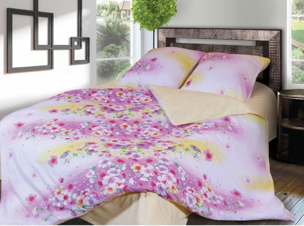 Постельное белье Грация 3858-1 Комплект 1.5 спальный Фланель 2302784